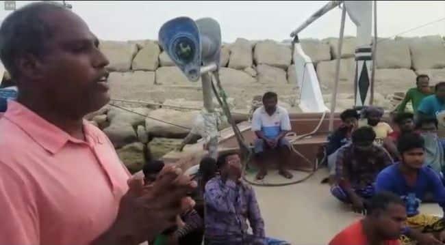indian fishermen stranded in iran
