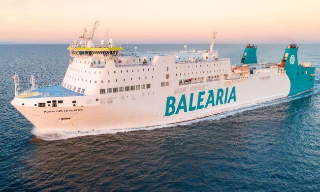Balearia's Ship Rosalind Franklin