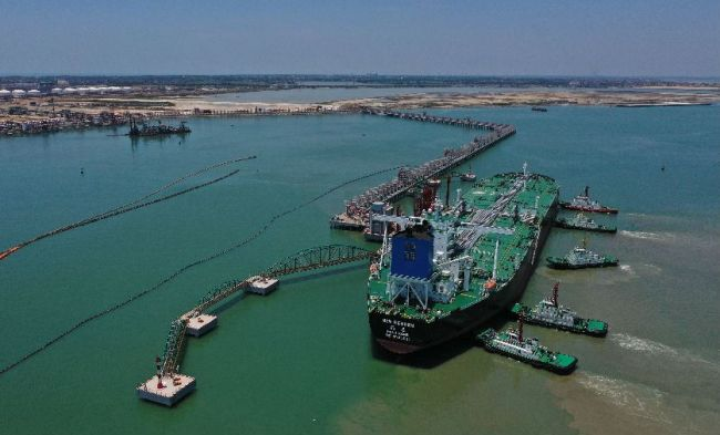 Sinopec Puts China's Largest Petrochemical Port into Operation.jpg