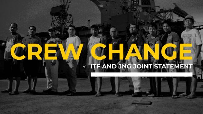 Crew change statement graphic