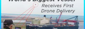 Drone-Delivery-for-the-first-time-on-world's-largest-vessel