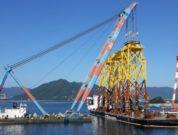 Jan De Nul Loads First Jackets For TPCs Offshore Wind Farm In Taiwan_2