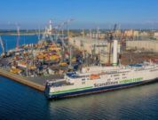 Latest Norsepower Rotor Sail Installation Completed On Scandlines Ferry In Just Hours