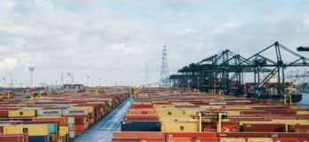 Port of antwerp containers