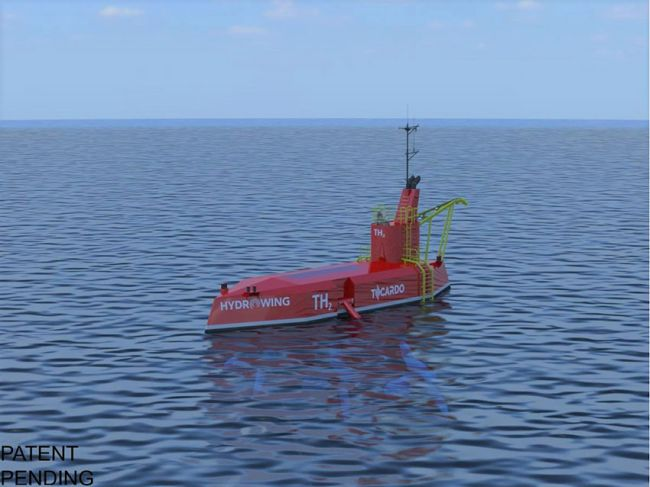 Tidal Hydrogen Production Storage and Offtake