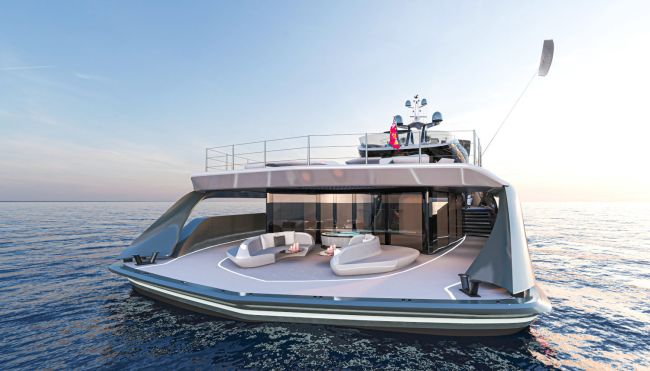 Vripack Presents The Futura 66 M Fossil-Free Yacht Concept