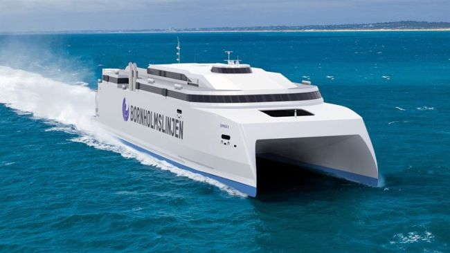 Wärtsilä high-efficiency propulsion solutions selected for special high-speed ferry_Bornholm