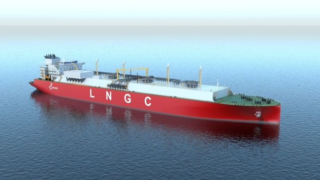 Wison 200K LNG Carrier Granted AiP by DNV GL