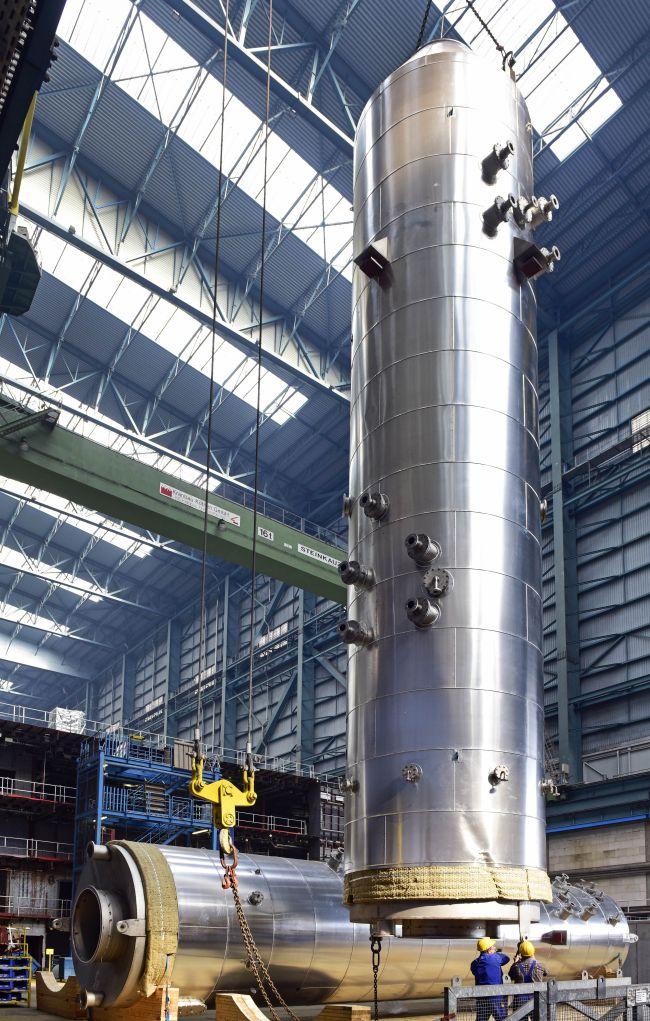 Yara Marine scrubber installation at Meyer Werft Pic.1 (Picture are courtesy Meyer Werft)