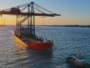 Two additional container gantry cranes arrive at CTB