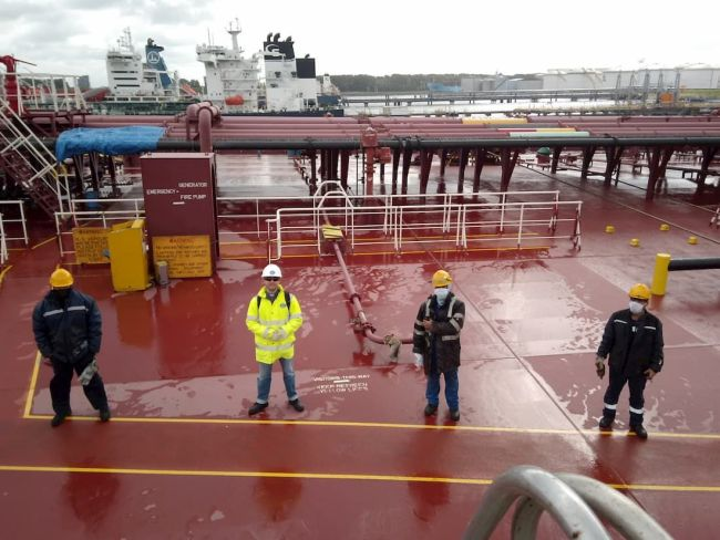 dennis-woodward-zeelieden-social-distancing-onboard_More Backing For Emotional Care Of Sea-Going Crews_rotterdam