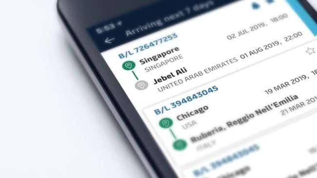 maersk-shipment-app_sample photo in mobile