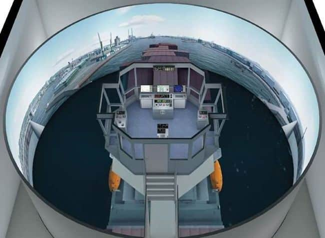 new Wärtsilä simulator will provide realistic training for pilots at the Le Havre pilot station