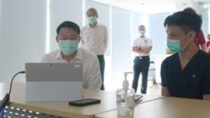 Tele medicine consultation