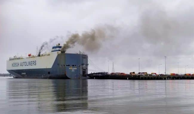 9 Firefighters Got Injured While Fighting A Fire Aboard Höegh Xiamen In Florida