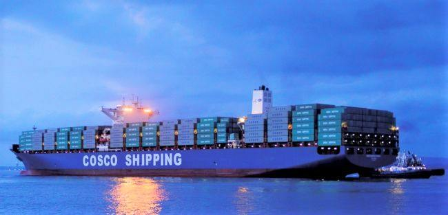 COSCO Shipping Container ship
