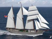 Sailing Cargo Schooner Ceiba