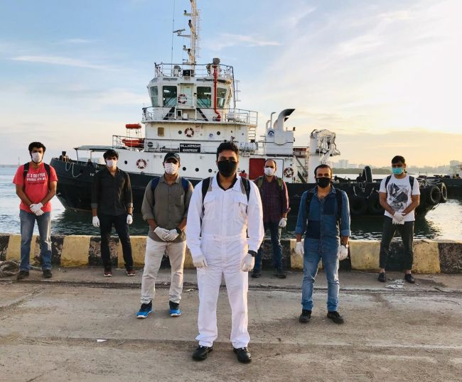 Indian Seafarers Crew Change