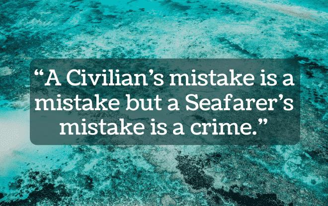 Criminalisation of Seafarer