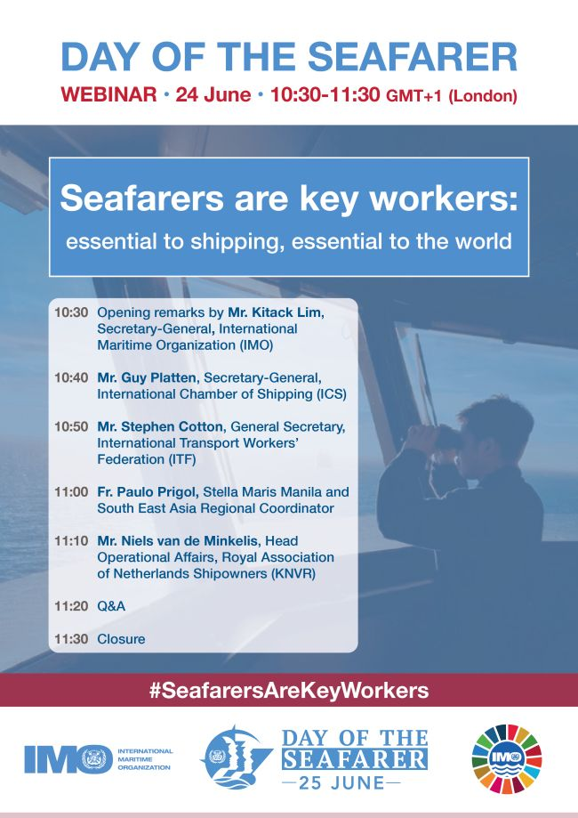 Day of the Seafarer - Webinar