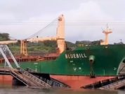 Gamboa bridge ship collision Panama Canal