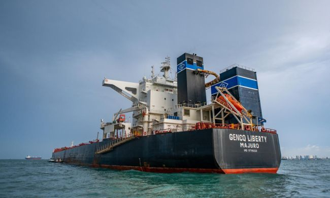 Genco Liberty Crew Change Seafarers COVID