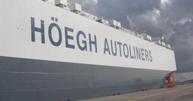 Hoegh Autoliners Toyota Award_ representation