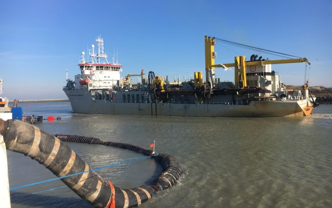 Hopper Dredger Alexander Von Humboldt Is The First To Sail 2,000 Hours On 100% Sustainable Marine Biofuel
