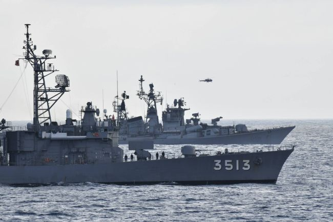 Joint Naval Exercise Held By India And Japan; Hopes Of Countering China_100
