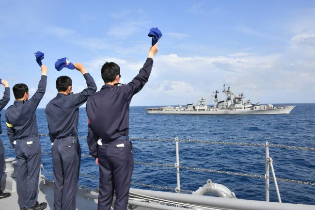 Joint Naval Exercise Held By India And Japan; Hopes Of Countering China