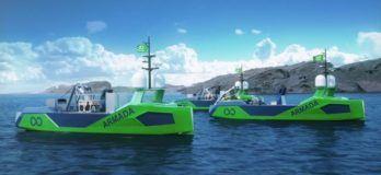 Kongsberg Robotic Ship Fleet Zero Emission Armada