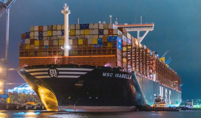 MSC Isabella APM Terminals Los Angeles