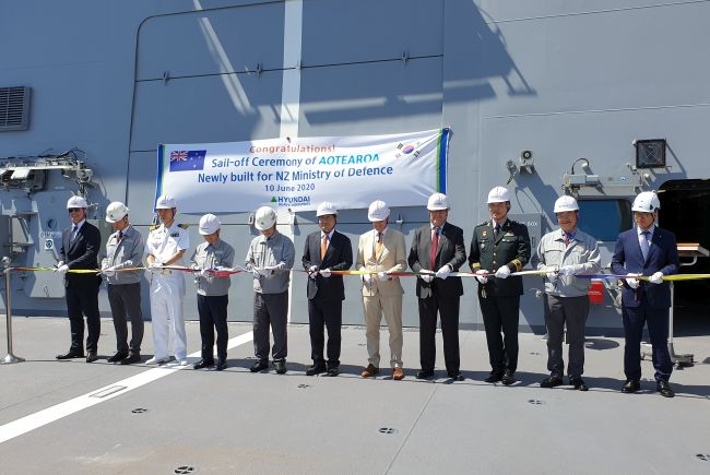 New Zealand Navy Polar-Class Logistics Support Vessel_Signed Off At Hyundai_Heavy