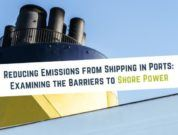 Reducing emissions from shipping ports