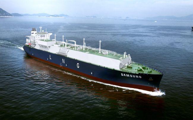 Samsung LNG Tanker