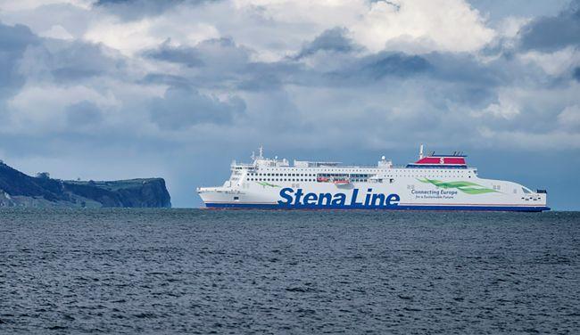 Stena Line Reduces CO2 Emissions - Stena Edda