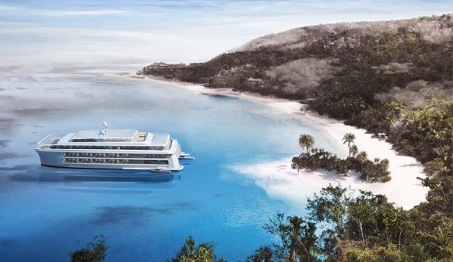 The concept is a forward-looking innovation for future boutique cruising that will attract a new customer base