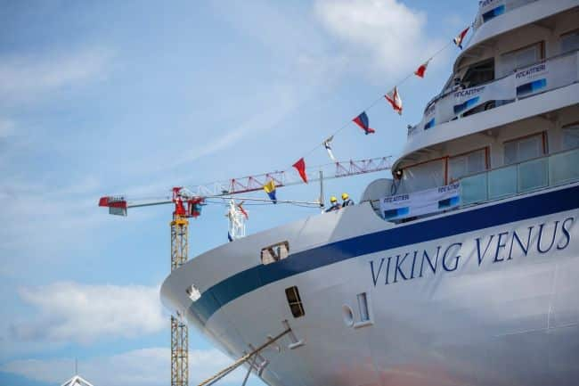 Viking Venus_Fincantieri Float Out