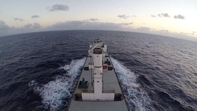 cargo carrier ship