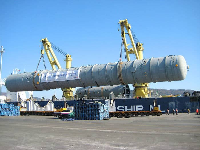 project cargo ship