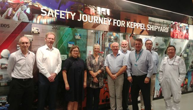 safety journey for keppel shipyard