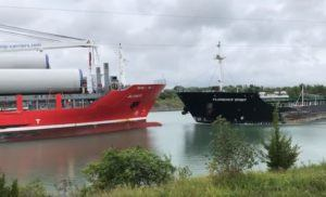 2 Ships Collide In Ontario