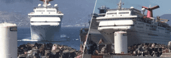 Carnival-Fantasy on its last-journey