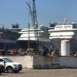 Carnival Fantasy_with others at ship breaking yard