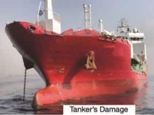 Collision Involving A Vessel Adrift