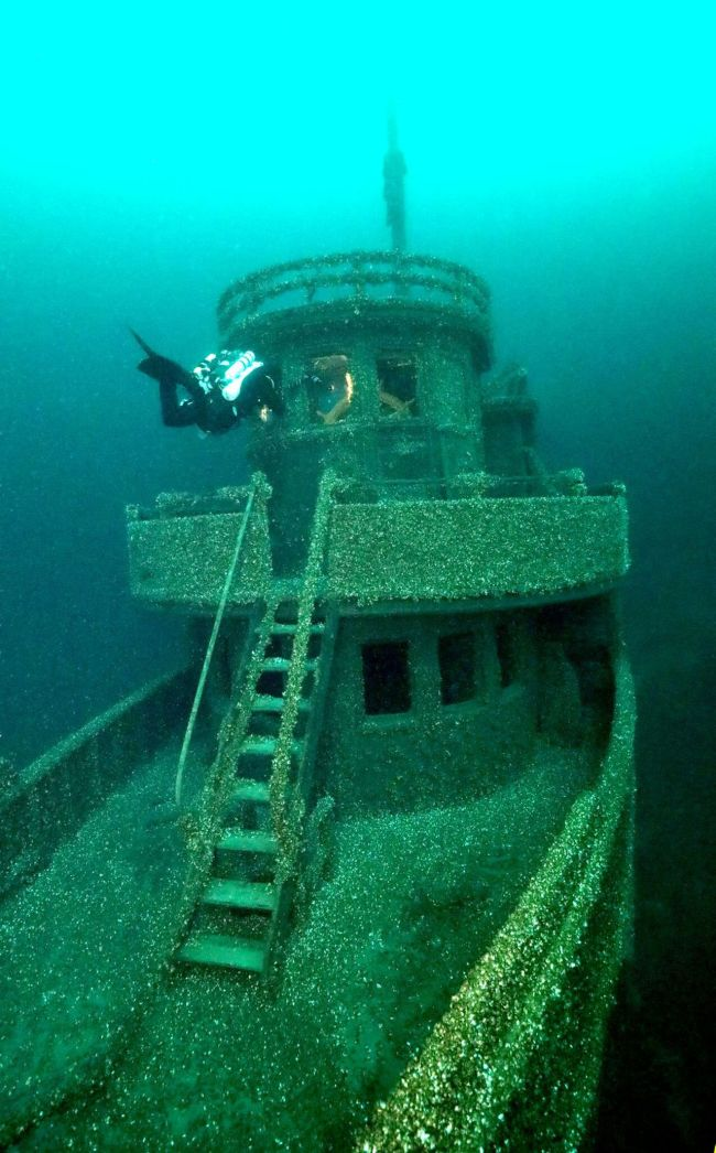 Cursed Canadian Ship Found Intact After 90 years_ Ken Merryman