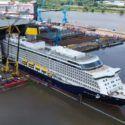 Float Out Spirit Of Adventure At Meyer Werft Shipyard