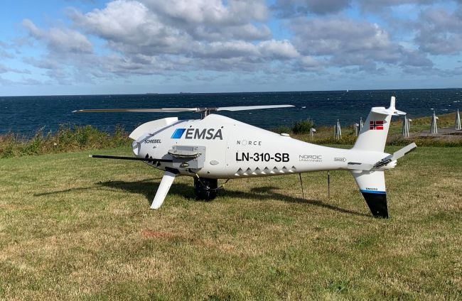 RPAS Drones Continue Monitoring Ship Emissions In Danish Waters