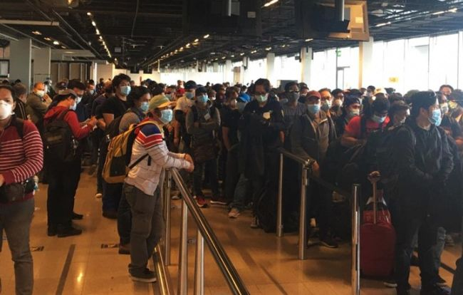 Repatriation Of 392 Filipinos Assisted By The PH Embassy At Hague
