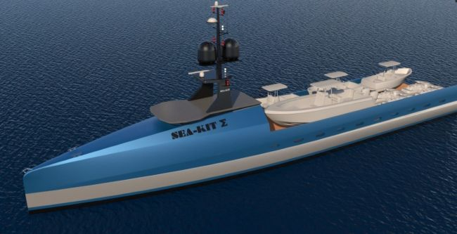 SEA-KIT Unveils First Uncrewed, Remotely-Operated Superyacht Support Vessel Concept